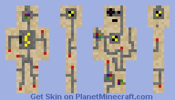 Test Dummy Robot Minecraft Skin