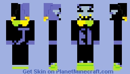 The World Revolving (jevil) Minecraft Skin