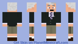 Voiceover Pete Minecraft Skin