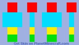 Your MC Admin Color Skin Minecraft Skin