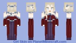 High elf Galiya'Ildris >Personal Minecraft Skin