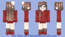 ♡hot cocoa | st w/ OneWish Minecraft Skin
