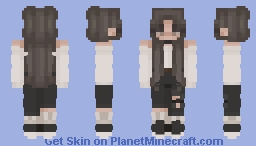 Sadness Only Comes Out at Night Minecraft Skin