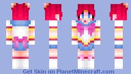 Sailor Chibi Chibi Minecraft Skin