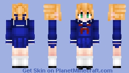 Artoria Pendragon (Saber) アルトリア Fate/Stay Night Minecraft Skin