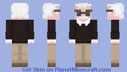 Stan Lee Minecraft Skin