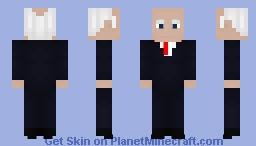 Alfred Pennyworh - The Dark Knight Minecraft Skin