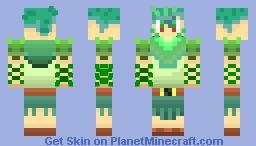 Kelp Soldier Minecraft Skin