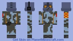 Beta Combine Soldier 2002 Minecraft Skin