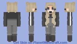 ♀   𝚗𝚘𝚝𝚑𝚒𝚗𝚐   Malia Minecraft Skin