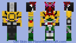 Kamen Rider Zi-o オーズ_Armor Minecraft Skin