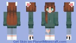ɹǝʇɐǝʍs ɔısɐq ♥ Minecraft Skin