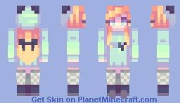 // taking my time on my ride // ; Fanskin for KawaiiCornz Minecraft Skin