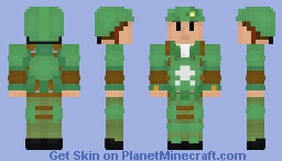 Honor for our army- FO4 Combat armour Minecraft Skin