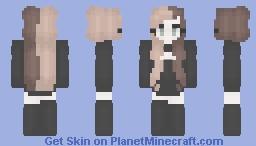 Brown and Blonde - ish? Minecraft Skin