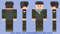 International Militia Special Operative Minecraft Skin