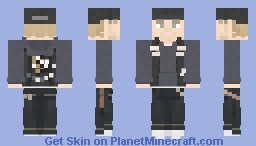 Jax Teller || Sons of Anarchy || Kiss Minecraft Skin