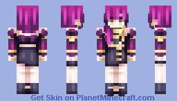 K/DA Evelynn Minecraft Skin