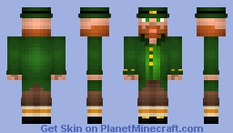 Leprechaun Skin Minecraft Skin