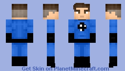 Mr. Fantastic (Variants in desc.) Minecraft Skin
