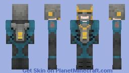 Nova Corps (MCU) Minecraft Skin