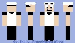 Peppino (Pizza Tower) Minecraft Skin