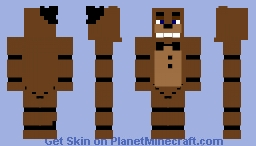 Witered Freddy Minecraft Skin