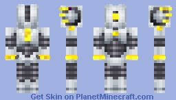 Minecraft Robot Minecraft Skin