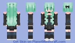 Mint Minecraft Skin