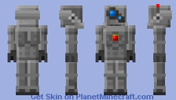 :MSC: Steel Golem Minecraft Skin