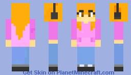 Headphone Polly Minecraft Skin