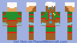 ginger bread man Minecraft Skin