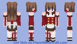 Rasberry Chocolate Minecraft Skin
