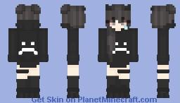 Sad Minecraft Skin