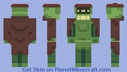 Don-Bot Minecraft Skin