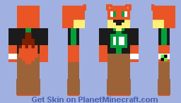 Benjamin Kirby Tennyson (Dimension Forty-Fur) Minecraft Skin