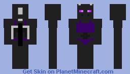 Bodybuilder Enderdragon Minecraft Skin