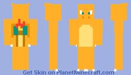 Fat Charizard Minecraft Skin