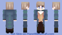 """Why would I need a safe house in Paris?"" Minecraft Skin"