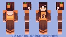 pumpkin fields Minecraft Skin