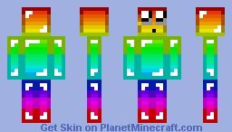 RAIMBOW DIAMOND Minecraft Skin