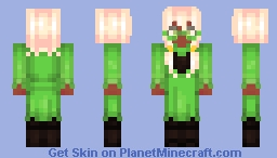 *The power of fluffy boys shines within you. Minecraft Skin