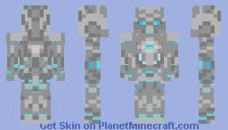 Robot of the Future Minecraft Skin
