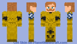 Escanor (armor) nanatsu no taizai Minecraft Skin