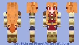 Raphtalia (The Rising Of The Shield Hero) Minecraft