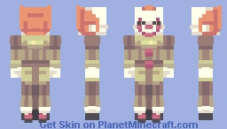 Pennywise | IT Minecraft Skin