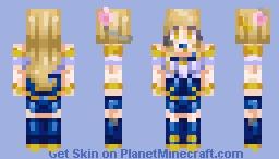 𝘬𝘦𝘦𝘱 𝘺𝘰𝘶𝘳 𝘦𝘺𝘦𝘴 𝘰𝘯 𝘮𝘦 | K/DA Ahri ✧・゚:* LoL Minecraft Skin