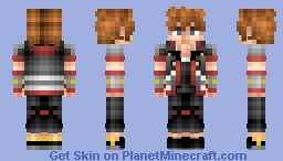 Sora - KH3 (Kingdom Hearts Tales) Minecraft Skin
