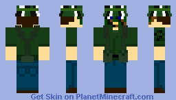 United States Army Special Forces Soldier- Vietnam Minecraft Skin