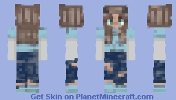 "Another Old Skin I Found called ""OPTICAL"" i like it cus its my first demon :D Minecraft Skin"